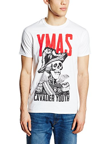 You Me At Six You Me AT Six Cavalier Youth-T-shirt  Uomo    bianco Large