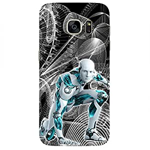Robot-Mobile Back Case Cover For Samsung Galaxy S7