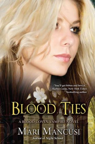 Cover of Blood Ties (A Blood Coven Vampire Novel)