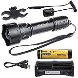 Evolva Future Technology T20 IR 38mm Objektiv Infrarot-Licht-Nachtsicht -Taschenlampe -Um mit Nachtsicht -Gerät verwendet werden