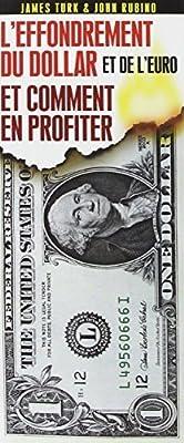 L'effondrement du dollar et de l'euro et comment en profiter de James Turk (2011) Broché de James Turk