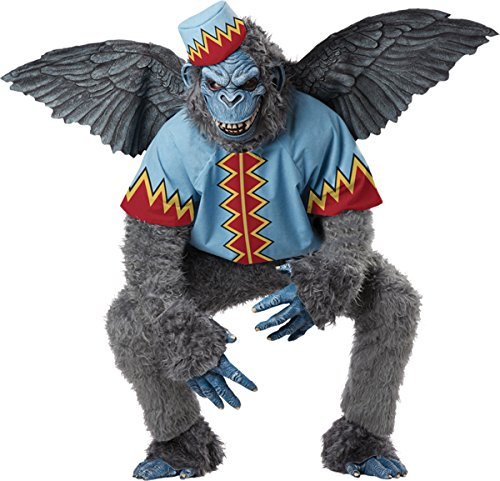 Morris Costumes Winged Monkey Adult Lg 42-46