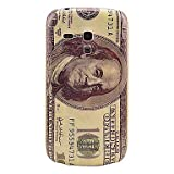 US Dollar Pattern Hard Back Cover Case for Samsung Galaxy S3 Mini I8190