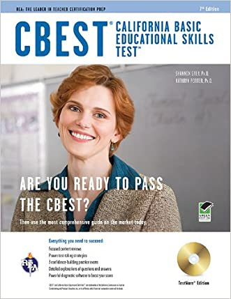 CBEST (California Basic Educational Skills Test) w/CD (CBEST Teacher Certification Test Prep)