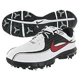 Nike Golf Men's Nike Air Rival Golf Shoe,White/Varsity Red/Black,10 W US