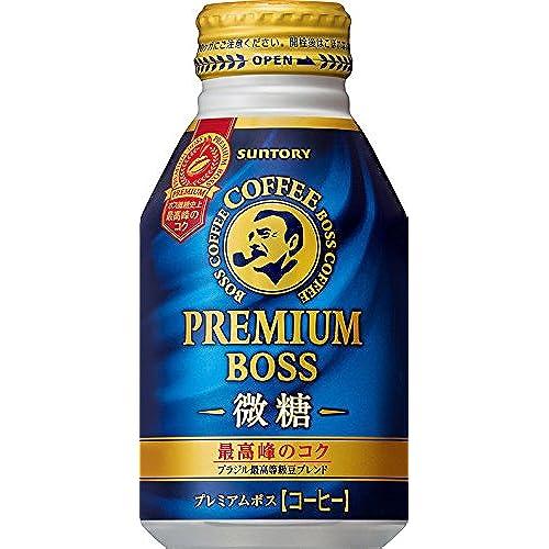 [일본 산토리 보스 캔커피 / SUNTORY BOSS COFFEE] 프리미엄 보스 미당 260g보틀관×24개