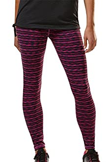 Space Dye Stripe Legging - GLYDER APPAREL