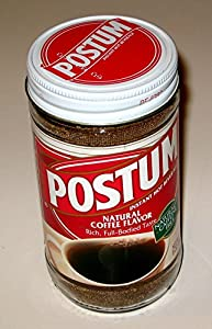 Postum Instant Hot Beverage - Natural Coffee Flavor, 8 oz