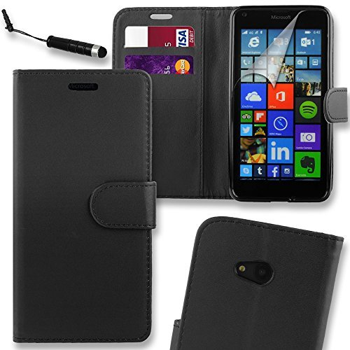 connect-zoner-microsoft-lumia-650-black-premium-pu-leather-flip-wallet-case-cover-pouch-screen-prote