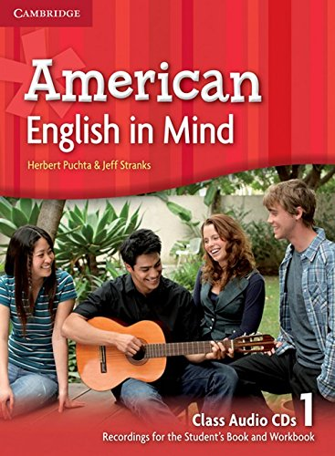 American English in Mind Level 1 Class Audio CDs (3)