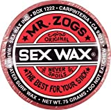 Mr. Zogs Original Sexwax - Warm Water Temperature (Mixed - Random Scent)