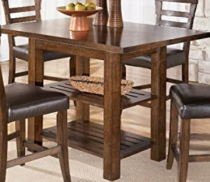 Amazon.com: Rustic Counter Height Dining Table: Kitchen & Dining