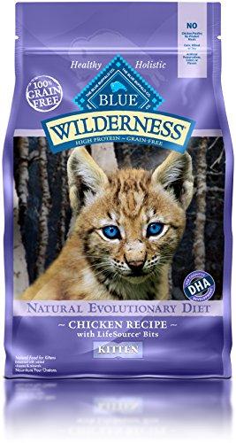 BLUE Buffalo Wilderness Chicken Recipe For Kittens (Dry)