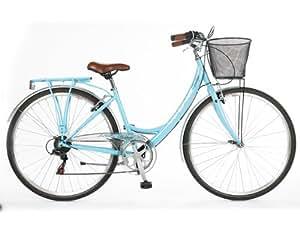 "viking belgravia ladies town bike 2013 blue 19"" frame"