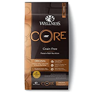 Wellness Core Reduced Fat Dry Dog Food 24 Pound Bag