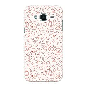 Mobile Back Cover For Samsung Galaxy j3 (Printed Designer Case)