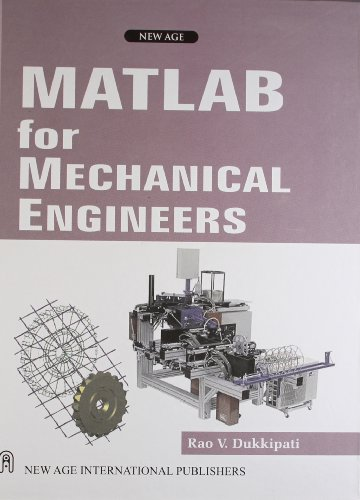 matlab for mechanical engineers pdf