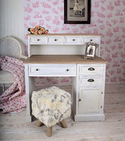 Palazzo Exclusive Maison Provence Country House Style Writing Desk in Antique Look