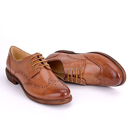 Women Oxford leather shoes E208 (10 B(M)US, A)