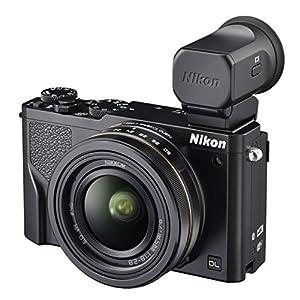 Nikon デジタルカメラ DL 18-50 f/1.8-2.8 EVFキット 2081万画素 1.0型センサー ブラック DL18-50EVF