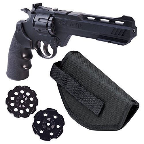 Crosman Vigilante 357 Co2 Air Pistol Kit with Holster and 3-Pack of Magazines (Revolver Bb Gun Co2 compare prices)