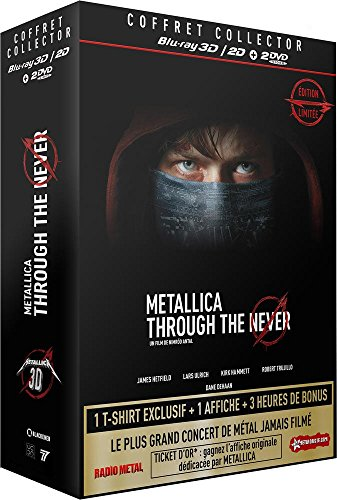 Metallica : Through the Never [Combo Collector Blu-ray 3D + Blu-ray + DVD] [Edizione: Francia]