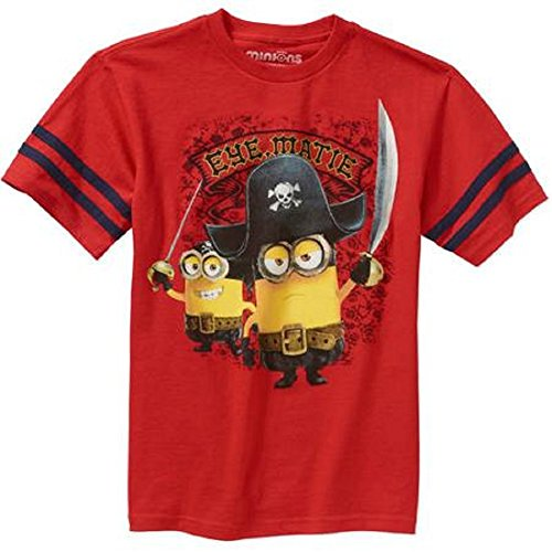 Minions Pirate Eye, Matie T-Shirt, Size M (8)
