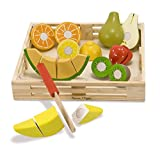 Melissa and Doug Cutting Fruit Wooden Play Food