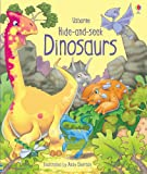 Hide and Seek Dinosaurs (Hide & Seek) [ハードカバー] / Fiona Watt (著); Andy Elkerton (イラスト); Usborne Publishing Ltd (刊)