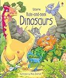 Hide and Seek Dinosaurs (Hide & Seek) [ハードカバー] / Fiona Watt (著); Andy Elkerton (イラスト); Usborne Publishing Ltd (刊)