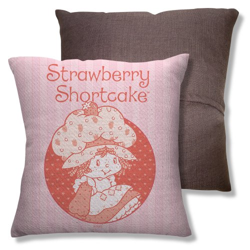 Wicked Tees Strawberry Shortcake Classic Throw Pillow front-875950