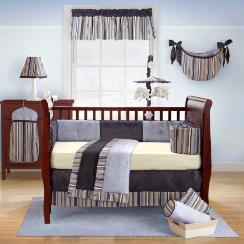Daniel 4 Piece Baby Crib Bedding Set with Bumper by Bananafish