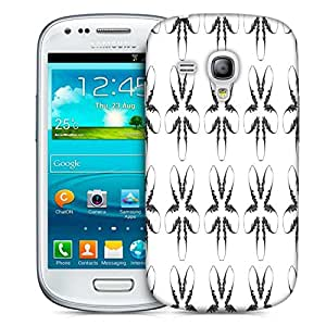 Snoogg Fingers Pattern Printed Protective Phone Back Case Cover For Samsung S3 Mini / S III Mini