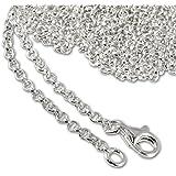 SilberDream Charm Halskette 80cm 925 Sterling Silber Kette für Charms Armband Anhänger FC00288-1