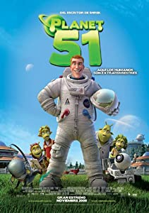 Planet 51 Movie Poster (27 x 40 Inches - 69cm x 102cm) (2009) Mexican
