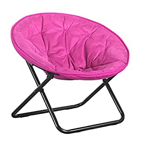 Amazon HomeOrgnizor fortable Folding Moon Chair