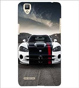 PRINTSWAG CAR Designer Back Cover Case for OPPO F1