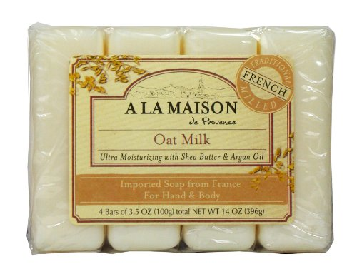 A la maison soap bars value pack oat milk 4 count food for A la maison soap