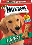 Milk Bone Large Biscuits for Dogs, 4-Pounds (Pack of 2)