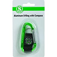 D-Ring With Compass - Smart Savers-D-RING W/COMPASS