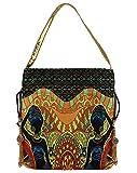 Lavaya Solid Hand-held Bag for Women