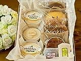 【母の日用】プリン シュークリーム ロールケーキ チョコ チーズケーキ 半生 ケーキ いろいろセット (ギフト) (小サイズ 8個入り)
