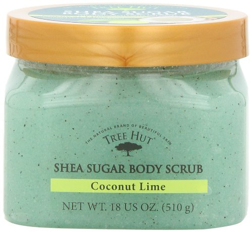 Tree Hut Shea Sugar Body Scrub, Coconut Lime,