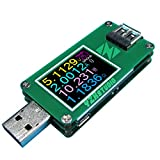 YZXstudio 1270 USB Power Meter 0.0001V 0.0001A 4-24V by KAAYEE to Test Voltage, Current, Ah/Wh, D+/D- Recognition, Cable Resistance with YZXstudio Firmware V3.0.