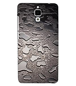 ColourCraft Beautiful Rain Pattern Design Back Case Cover for XIAOMI MI 4