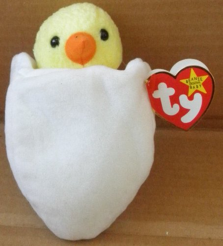 TY Beanie Babies Eggbert the Chick Plush Toy Stuffed Animal