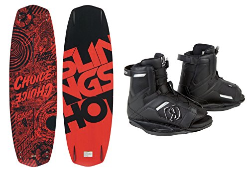 Slingshot - Choice Wakeboard 142Cm - W/ Ronix Divide Boot Men'S (5-8.5) - 2014