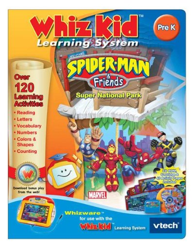 V Tech - Whiz Kid CD- Spider-Man & Friends - 1