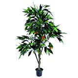 Europalms 165 cm Mango Tree with Fruits, Green