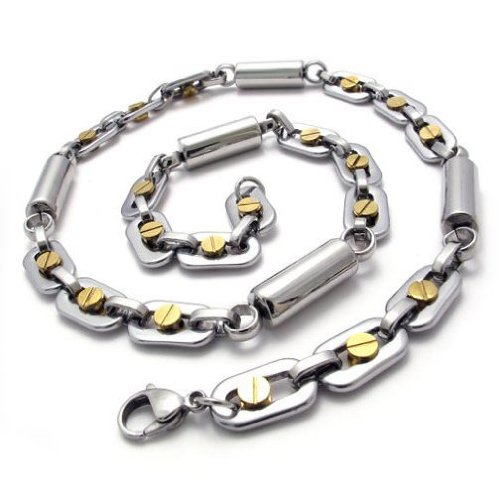 CET Domain SZ14-75494 Mens Accessories Necklace Made of 316L Grade Titanium Steel